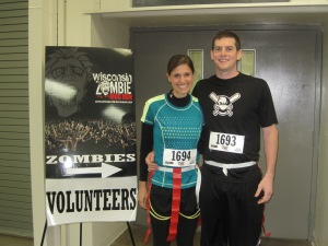 Tyler and I - Zombie Run 2014