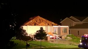 This home on Tamarack Way in Verona had its roof blown off by an apparent tornado that hit overnight. Photo from http://host.madison.com/wsj/news/local/verona-tornado-they-talk-about-it-sounding-like-a-train/article_7d65d485-bbce-50bb-bd2e-22ad9ae7ed99.html